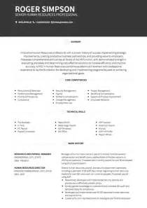 hr cv exles and template