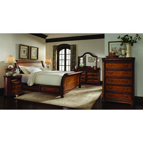 Bedroom Sets 400 by Emery Park Calistoga 6 Sleigh Storage