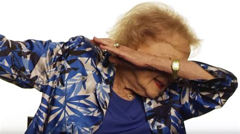 is dabbing better than does betty white dab better than newton for