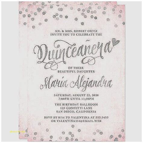 quinceanera invitation templates sle quinceanera invitation wording cogimbo us