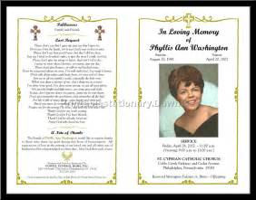 Free Funeral Program Templates by Free Funeral Program Template Tristarhomecareinc