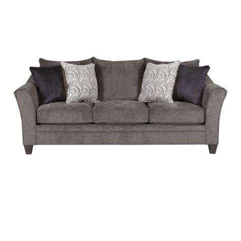 albany sofa pewter grey fabric couch jeromes