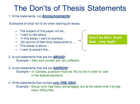 100 exles of strong thesis statements for essays ar 670 1 haircut essay sle of masters