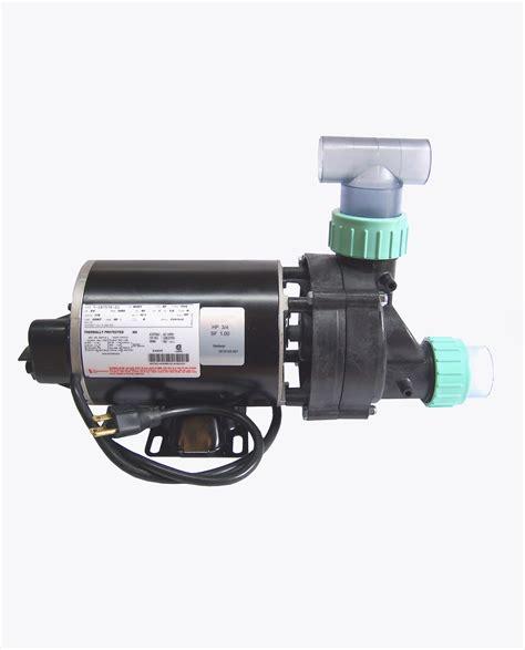 bathtub pump bathtub pump 3 4 hp w air switch cord 115volts 10 5 s w unions tee