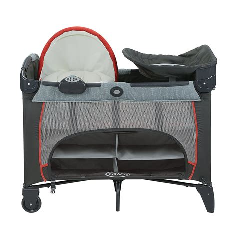 pack n play with changing table and storage graco pack n play dlx playard with newborn napper station