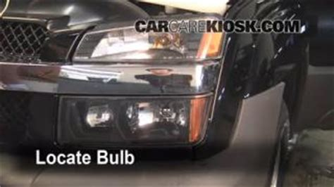 how cars run 2005 chevrolet avalanche 1500 spare parts catalogs how to replace a running light bulb on 2002 chevy avalanche autos post