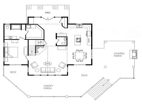 Custom Log Home Floor Plans | log home open floor plan most expensive log homes custom