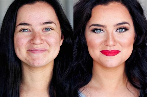 Makeup Makeover mac cosmetics makeover before after style by