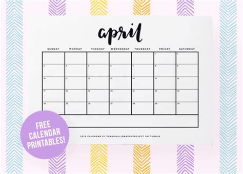 printable tumblr printable calendars tumblr