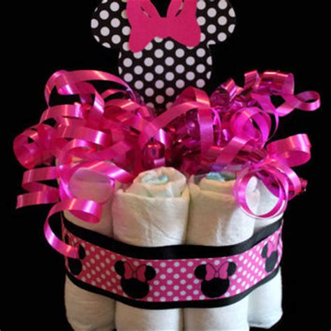 Minnie Mouse Centerpieces For Baby Shower by Minnie Mouse Centerpiece Cake From Mjmbabyboutique On
