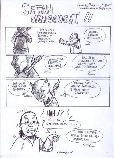Komik Peri Setan 1 2 komik ketika setan menggugat beritaunik net