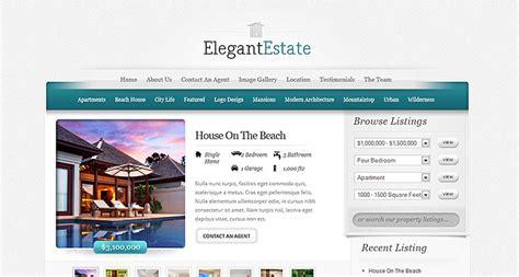 themes wordpress elegant free elegantestate real estate wordpress theme