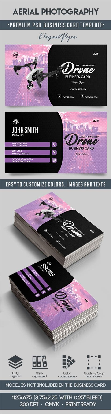 Aerial Photography Business Card Template By Elegantflyer Aerial Photography Website Templates