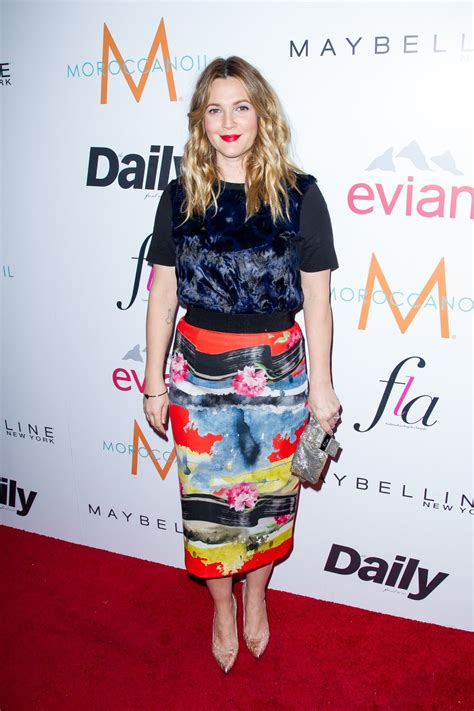 Drew To Front Fashion Caign by Drew Barrymore At The Daily Front Row Fashion Los Angeles