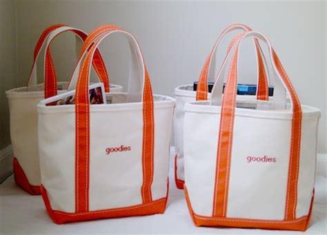 week three goodie bags