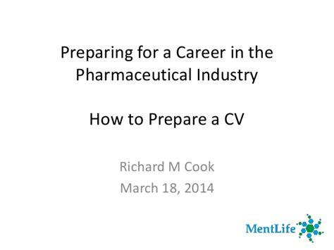 preparing for a career in pharma industry how to prepare
