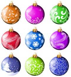 collection christmas balls ornaments png clipart clipart