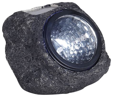 contemporary solar lights solar rock light contemporary landscape lighting by