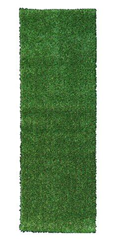 green turf rug evergreen collection indoor green artificial grass turf solid design runner rug ebay