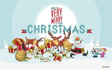 christmas wallpaper widescreen pixeden dec 2011