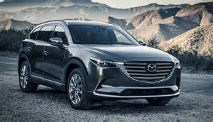2017 mazda cx 9 revealed gorgeous redesign cabin and