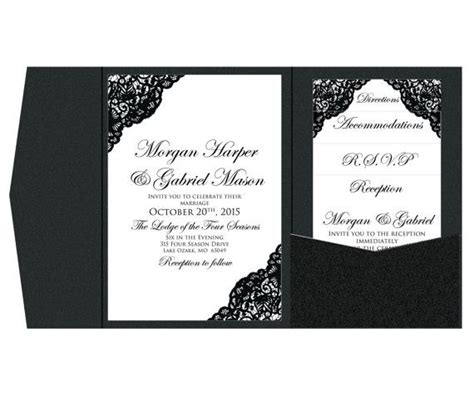 pocket wedding invitation template 32 best images about wedding invites on purple