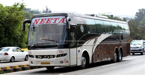 Volvo B9r Multi Axle Semi Sleeper Price In India by Neeta Volvo B9r Multiaxle Semi Sleeper Biswajit Svm Chaser