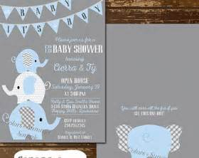 baby shower invitations elephant theme theruntime