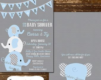 Elephant Baby Shower Invitation Theruntime Com Elephant Baby Shower Invitations Templates