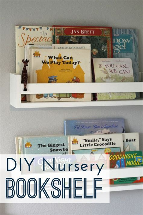 diy nursery bookshelves kid nurseries and pottery