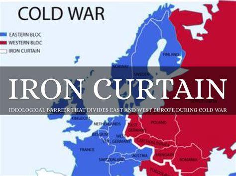 define iron curtain cold war what is the definition of iron curtain