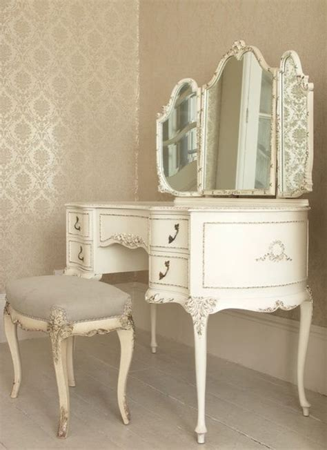 antique white vanity chair white antique vanity and stool the mirror
