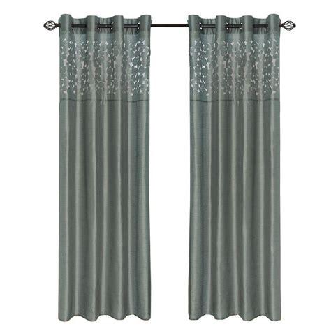 grommet curtains 63 length lavish home grey karla laser cut grommet curtain panel 84