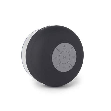 Bluetooth 3 0 Shower Speaker Black intempo bluetooth shower speaker 3 w black speakers