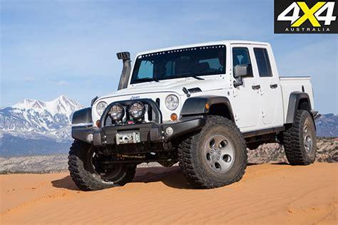 jeep wrangler ute details confirmed  australia
