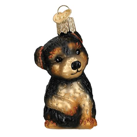 doodle treasures puppy mill yorkie puppy ornament traditions