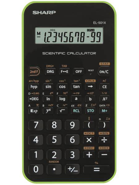 el  sharp calculators