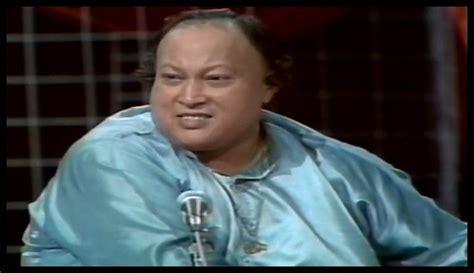 nusrat old qwali hot music great singer nusrat fateh ali khan sad song
