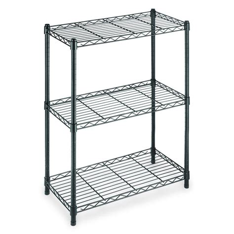 shelves awesome stacking metal shelves mainstays wire