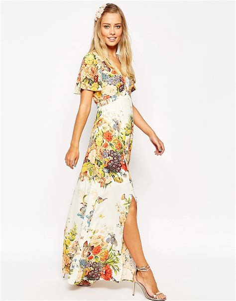 Flores Maxy floral maxi dress www imgkid the image kid has it