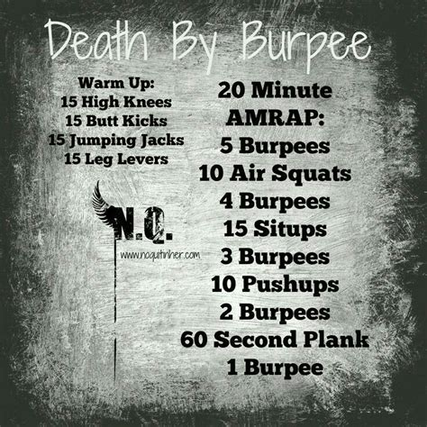 Skinnyme Detox Program Pdf by 25 Best Ideas About Burpees On Summer