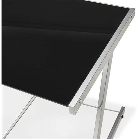 bureau angle en verre bureau d angle en verre quot lize quot noir