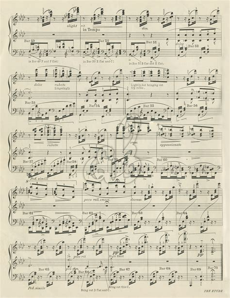 free printable vintage christmas sheet music 8 best images of printable sheet music for crafts