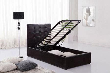 black faux leather single ottoman bed black ottoman faux leather single bed with storage