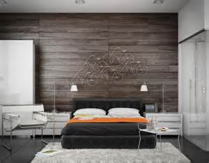 wood panel accent wall 63 wall panels wood the room very individual appearance