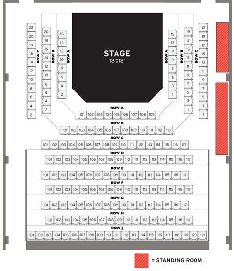 mile one centre floor plan ftc concert venue the warehouse live music band
