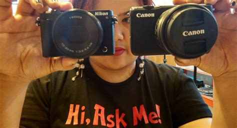 Perbandingan Lensa Nikon Vs Canon perbandingan kamera vlog antara canon m10 atau nikon 1 j5 plazakamera