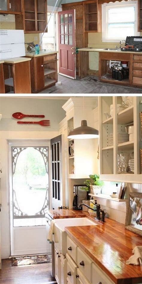 cheap kitchen makeover ideas before and after cheap kitchen makeover ideas