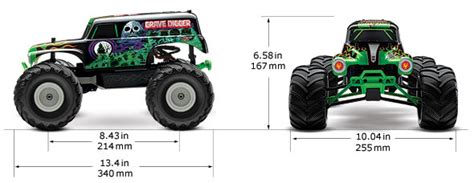 grave digger monster truck specs traxxas grave digger 1 16 scale 2wd monster jam replica rc car