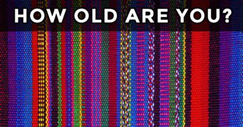 what color are the what is your age based on how you see colors mydailyquizz